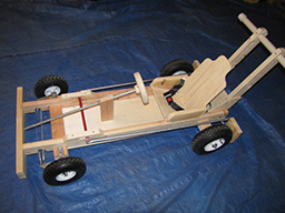 Built Muscle Kart Chassis