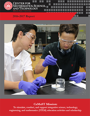 2013-2014 CeMaST Annual Report Cover